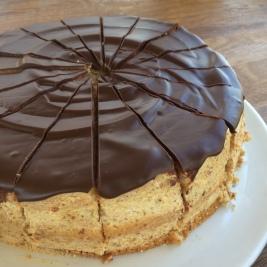 En annan version av vår huskaka // Another version of our house-cake