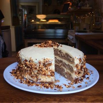 Caramel Apple Layered Cake