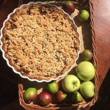 Klassisk amerikansk äppelpaj // Classic American apple pie
